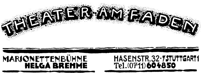 Logo des Theaters am Faden